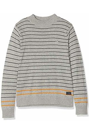 Scotch&Soda Boy's Mock Neck Pull in Cotton-Cashmere Quality Kniited Tank Top