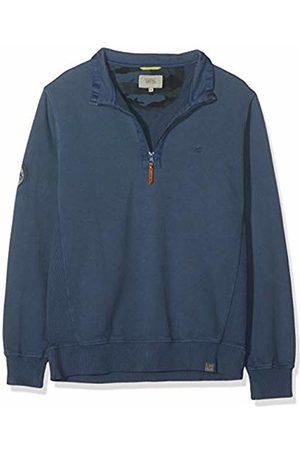 Camel Active Men Sweatshirts - Men's Half Zip Sweat Sweatshirt