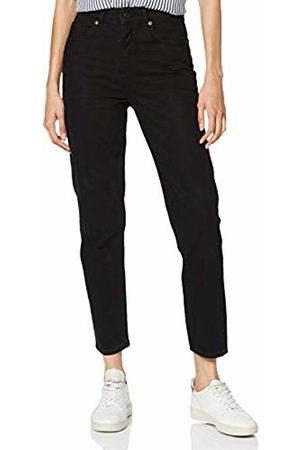 Selected Femme NOS Women's Slffrida Hw Mom Lash Jeans W Noos Straight Denim