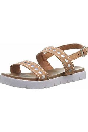 Xti Girls' 56655 Open Toe Sandals, Camel