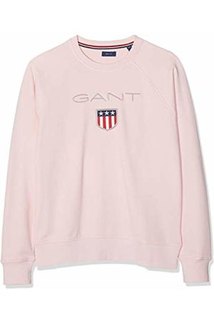 GANT Boys' D1. Shield Logo Sweat C-Neck Sweatshirt, (Royal 656)