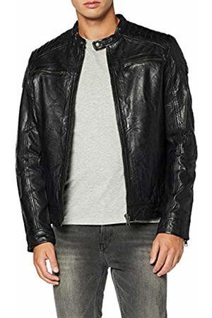 Jack & Jones NOS Men's Jjeliam Leather Jacket Noos