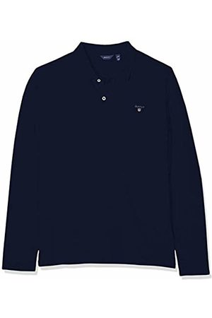 GANT Boys' D1. The Original Ls Pique Polo Shirt, (Evening 433)