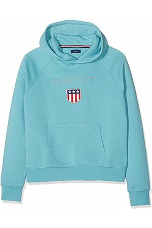 GANT Boy's D1. Shield Logo Sweat Hoodie Sports