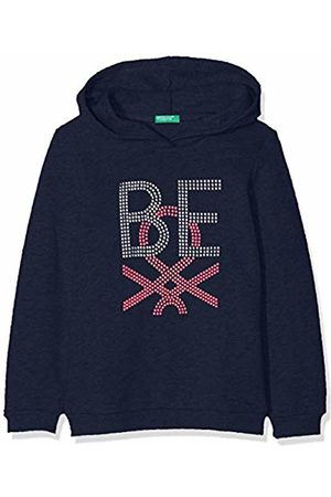 Benetton Girl's Basic G1 Sports Hoodie