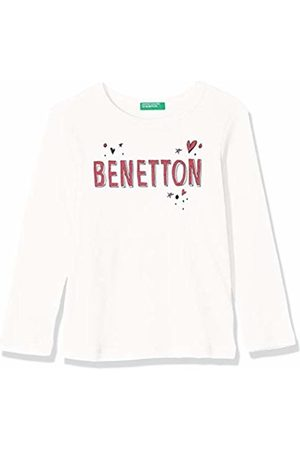 Benetton Girl's Basic G1 Kniited Tank Top