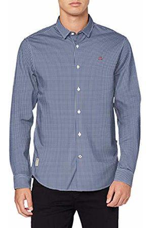 Napapijri Men's Gardiner Casual Shirt, ( Check 00C)
