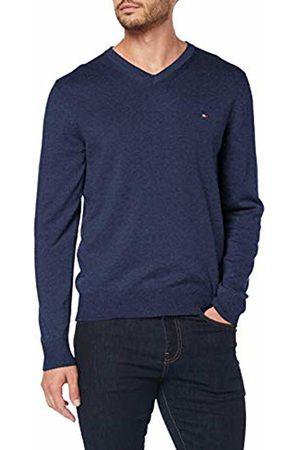 Tommy Hilfiger Men's Organic Cotton Silk V Neck Sweatshirt