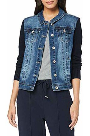 Cecil Women's 211007 Denim Jacket, Mid Wash 10282