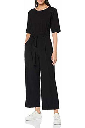 MERAKI Women's Short Sleeve Jumpsuit