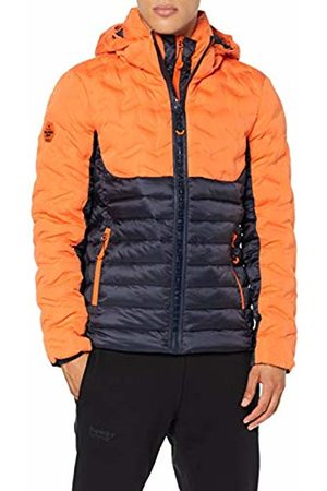 Superdry Men's Radar Mix Quilt Fuji Jacket, (New House K6o)
