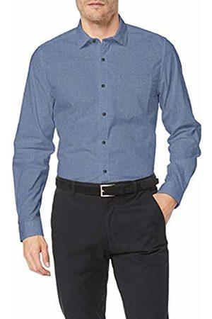 s.Oliver Men's 03.899.21.5240 Casual Shirt, (Brilliant 5616)
