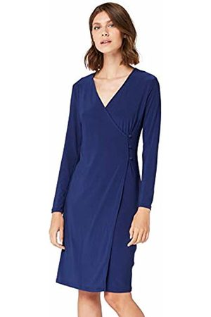 TRUTH & FABLE Damen Cbtf056 cocktailkleid Not Applicable, Blau (Navy)