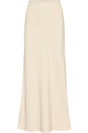 Agnona Women Midi Skirts - Satin-twill midi skirt