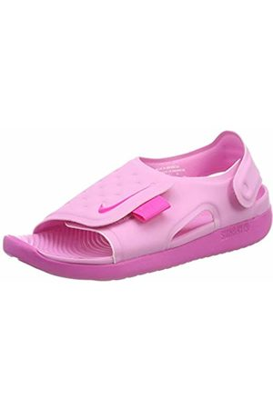 Nike Boys Sunray Adjust 5 (gs/ps) Beach & Pool Shoes, (Psychic /Laser Fuchsia 601)