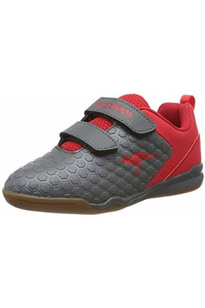 KangaROOS Unisex Kids' Speed Court V Multisport Indoor Shoes, ((Steel / 2015)