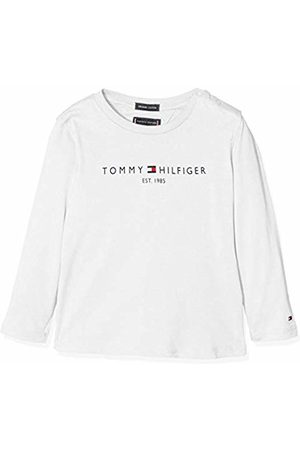 Tommy Hilfiger Boys T-shirts - Boy's Essential Hilfiger Tee L/s Long Sleeve Top Long Sleeve Top, ( YAF)