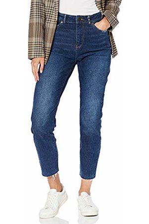 Only Women's Onlemily Hw Straight A DNM Jeans Bj14780 Dark Denim
