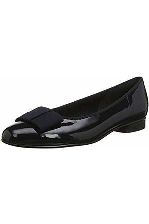 Gabor Women's Assist-Patent Ballet Shoes, (Ocean)