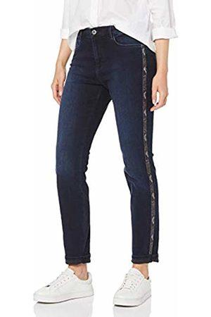 Brax Women's Shakira Galloon Snake Free to Move Five Pocket Skinny Sportiv Jeans, (Used Dark 23)