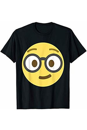 fae0d8a9e Emoji Geek Nerd Dorky Geeking Out Glasses Emoticon Texting T-Shirt