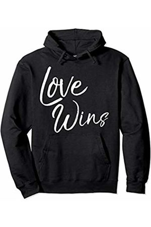 P37 Design Studio Jesus Shirts Christian Quote Gift for Women Cute Love Wins Pullover Hoodie