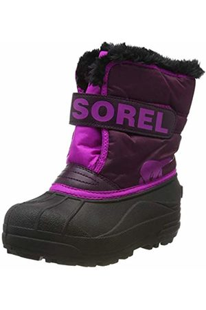 sorel Unisex Kid's Childrens Snow Commander Boots, ( Dahlia, 562)