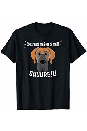 ToonTyphoon Hilarious Great Dane Not The Boss of Me T-Shirt
