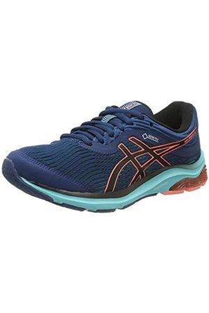 Asics Women's Gel-Pulse 11 G-tx Running Shoes, (Mako /Sun Coral 400)