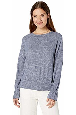 Daily Ritual Cozy Knit Gathered Sleeve Top Shirt