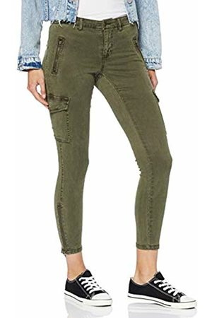 Only Women's Onllady Ankle Cargo Pant Rp Trouser, Tarmac