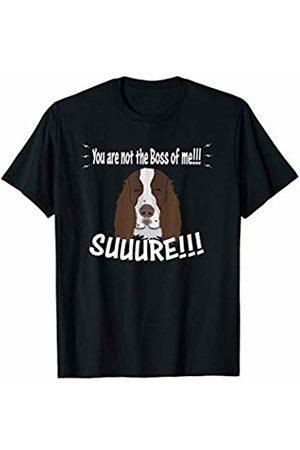 ToonTyphoon Amusing English Springer Spaniel Not The Boss of Me T-Shirt