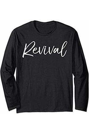 P37 Design Studio Jesus Shirts Christian Come Holy Spirit Gift for Women Cute Revival Long Sleeve T-Shirt
