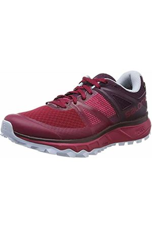 Salomon Women's Trail Running Shoes, Trailster GTX W, Cerise/Potent Purple/Heather