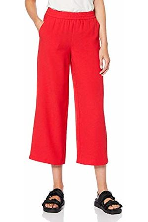 Only Women's Onlpiper Straight Culotte Pant TLR Trouser, Mars