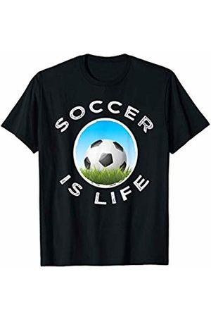 World Soccer Gear Soccer Is Life Graphic Workout Gift boys men girls women T-Shirt