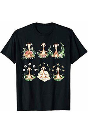 Giraffe T shirts Giraffe Yoga T-Shirt