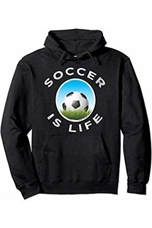 World Soccer Gear Soccer Is Life Graphic Workout Gift boys men girls women Pullover Hoodie