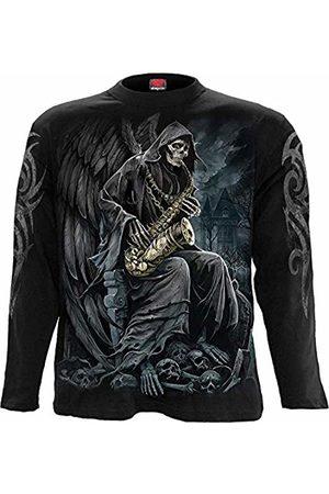 Spiral Reaper Blues - Longsleeve T-Shirt Black - XL