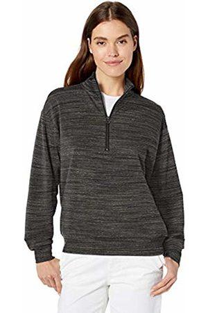 Daily Ritual Terry Cotton & Modal Quarter-Zip Sweatshirt Shirt