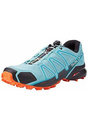 Salomon Women's Trail Running Shoes, Speedcross 4 W, Meadowbrook/Black/Exotic Orange