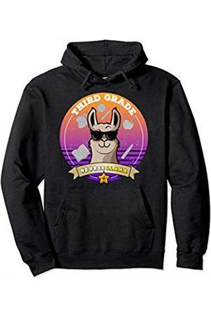 Third Grade Shirts Tee Kaboom Third Grade No Prob Llama Back to School Girl 3rd Grade Pullover Hoodie