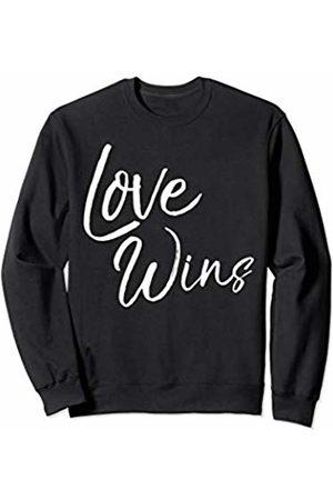 P37 Design Studio Jesus Shirts Christian Quote Gift for Women Cute Love Wins Sweatshirt
