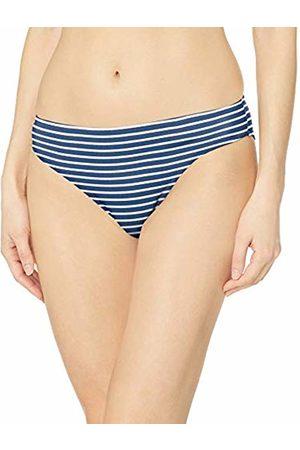 Amazon Essentials Classic Bikini Swimsuit Bottom Navy Stripe