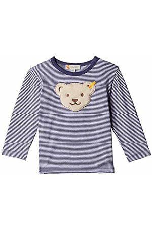 Steiff Baby Boys' T-Shirt Langarm Long Sleeve Top, (Patriot 6033)