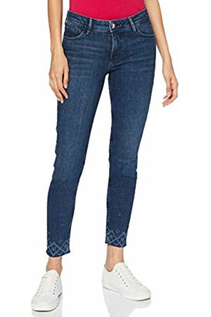 s.Oliver Women's 14.908.72.2327 Trouser, ( Denim Stretch 57z6)
