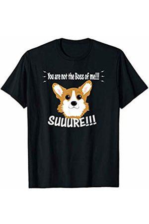 ToonTyphoon Truth Telling Corgi Not The Boss of Me T-Shirt
