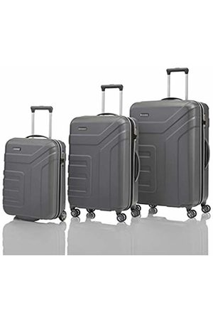 "Elite Models' Fashion ""VECTOR"" suitcase series: robust hard-shell rolling suitcases and cosmetic bags in four trendy colours"