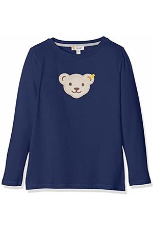 Steiff Boy's T-Shirt Langarm Long Sleeve Top, (Patriot 6033)