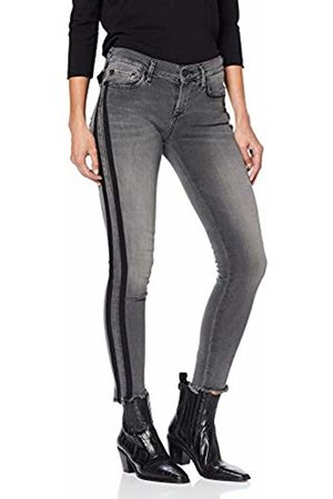 True Religion Women's Halle Superstretch Stripe Skinny Jeans, 1001